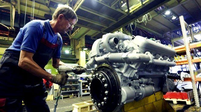Rusya`nın sanayi üretimi arttı