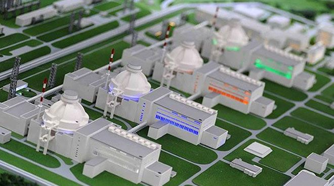Akkuyu NGS`nin ilk reaktör basınç tankı tabanı üretildi
